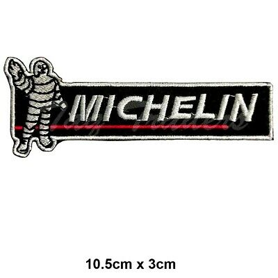Michelin Tyre logo jacket Iron on Sew on Embroidered Patch UK Seller