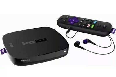 Roku Ultra - HD and 4K UHD Streaming Media Player with HDR (4640R) - READ - VG