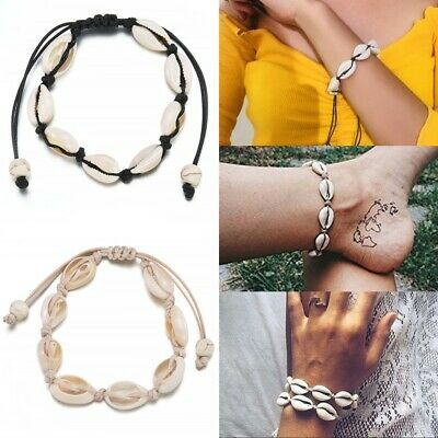 Boho Beach Sea Shell Bracelet Anklet Women Fashion Ankle Foot Rope Jewelry Gifts