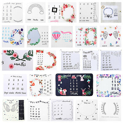 Newborn Infant Baby Photography Props Blanket Pad Background Stroller Blanket