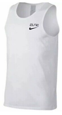 Activewear Tops Authentic Nike Elite Back Print Dri Fit Grey Tank Top Aa4507-063
