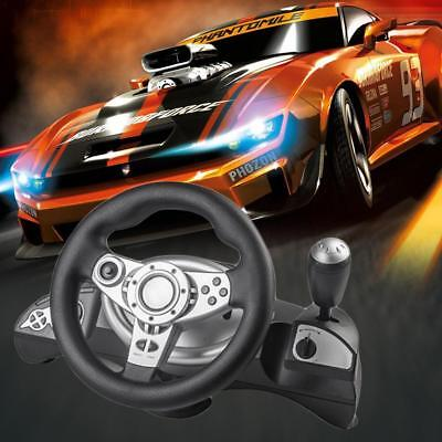 Computer Game Console Steering Wheel Racing Wheel For PC/PS3/PS4/Direct-X/Steam