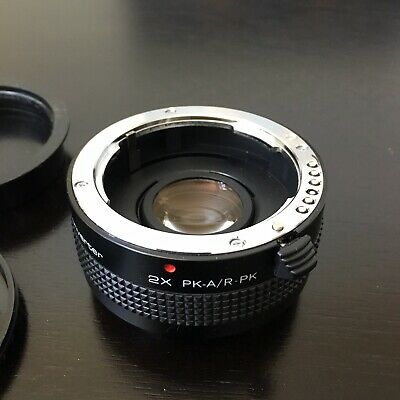 Vivitar MC Tele Converter 2K PK-A/R PK LENS made in Japan.