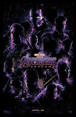 "Avengers -  Endgame ( 12""x 18"") Movie Collector's Poster Print MARVEL STUDIOS"