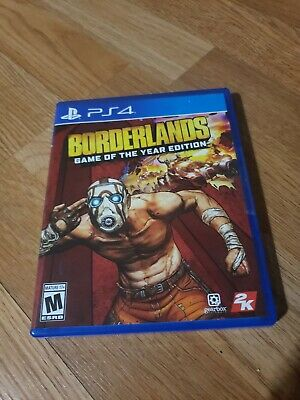 Borderlands [ Game of the Year Edition ] (PS4)  BRAND NEW STORE SEALED