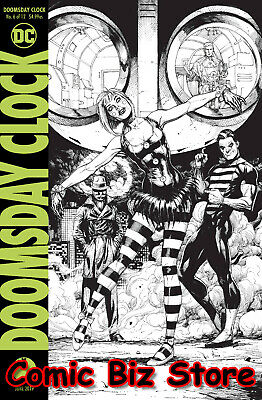 Doomsday Clock #6 (Of 12) (2019) Final Printing Frank Variant Cover Dc Universe