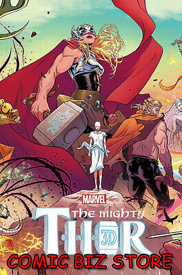 Mighty Thor 3D #1 (2019) 1St Print Polybagged War Of The Realms Marvel ($7.99)
