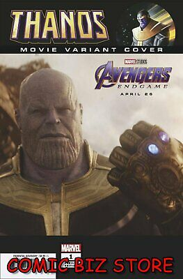 Thanos #1 (Of 6) (2019) 1St Printing Scarce 1:10 Endgame Movie Variant Cover