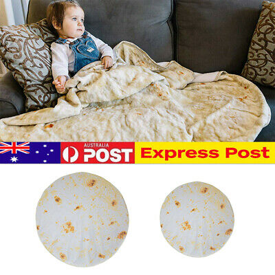 Burrito Blanket Carpet Throw Tortilla Texture Soft Blanket-High Quality Bedding