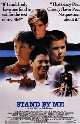 Stand By Me Replica 1986 Movie Poster