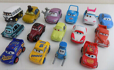 Disney Pixar Cars Bundle Of Diecast Mini And Micro Cars