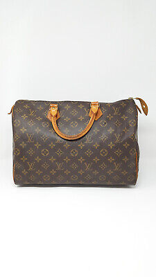 403cdd5d0a LOUIS VUITTON SPEEDY 35 Borsa a Mano Monogram Canvas Bag Handbag Donna Woman