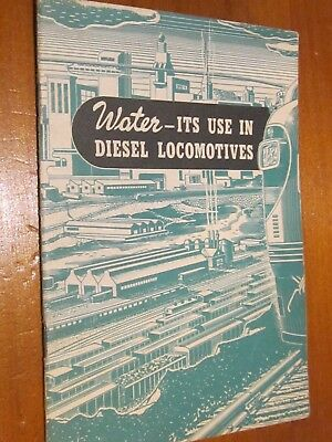 Water,Its use in Diesel  locomotives - General Motors, Electro Motive Division