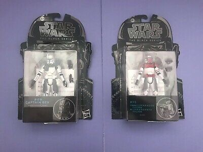 Star Wars Clone Wars Clone Captain Rex And Commander Thorn Figures New