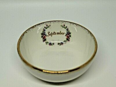 Royal Albert Berry Bowl Flower of the Month September Made in England-2724
