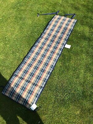 Replacement Cushion Pad for Outdoor Garden Sun Lounger Recliner - Multi Stripe