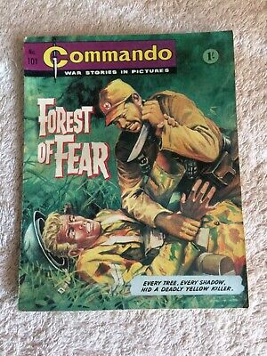 Very Early High Grade  Commando Comic Number 101