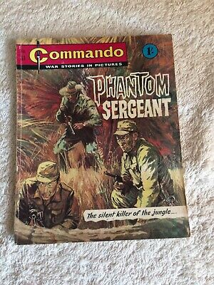 Very Early High Grade  Commando Comic Number 81