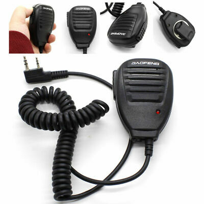Handheld Pofung BAOFENG UV-5R V2+ BF-F8+ WP970 Speaker Mic Walkie Talkie Radio R