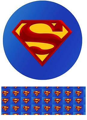 Cake Topper Superman personalised Rice paper,Icing fondant Sheets 06