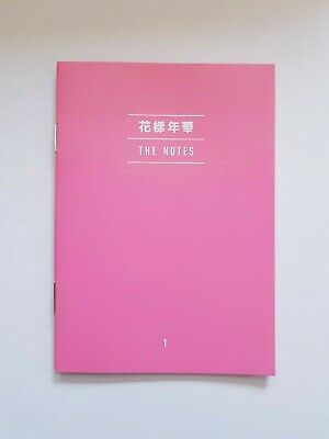 "K-Pop Bts Album ""Map Of The Soul : Persona"" Official Ver 1 The Notes"
