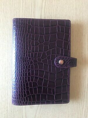 #Filofax #Osterley Personal Plum in great condition. Tight rings