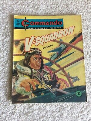 High Grade Very  Early  Commando Comic Number 302