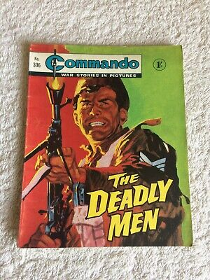 High Grade Very  Early  Commando Comic Number 306