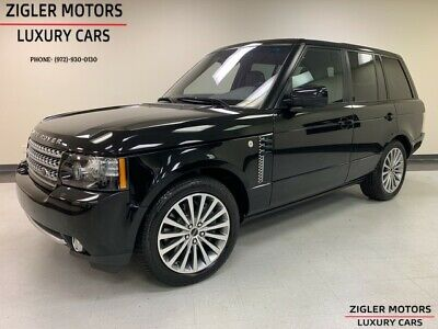 2012 Range Rover Supercharged Silver Pack Pkg One Owner low miles C 2012 Land Rover Range Rover 51,606 Miles