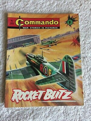 High Grade Very  Early  Commando Comic Number 312
