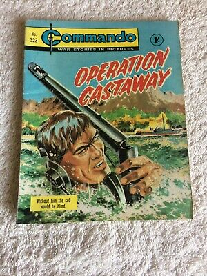High Grade Very  Early  Commando Comic Number 323