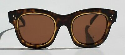 0594f4b7b845 Nwt Authentic Celine Sunglasses Helen Cl41397 s T7Fa6 Havana Honey With Case
