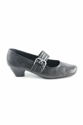 84ac1c67adbfd6 JENNY BY ARA Chaussures Mary Jane noir style décontracté Dames T 38,5