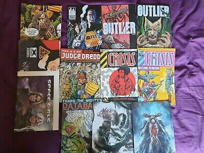 Mixed Lot Of 2000ad Related Stuff