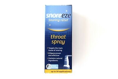 Snoreeze Snoring Relief Throat Spray - Up To 50 Applications