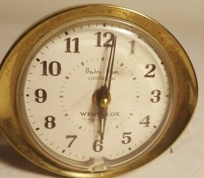 "Vintage Westclox Baby Ben Wind Up Alarm Clock 3""  201895"