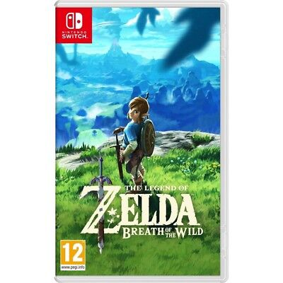 The Legend of Zelda Breath of The Wild Game Nintendo Switch 2017