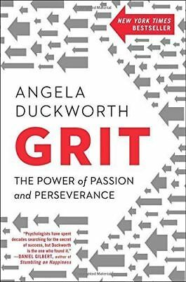 Grit: The Power of Passion & Perseverance by Angela Duckworth Hardcover New 2016