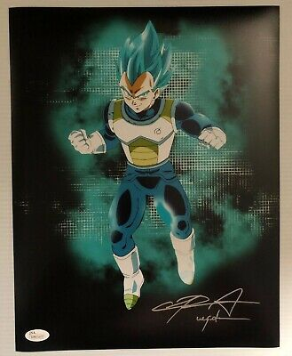 Chris Sabat Signed Autographed 11x14  Photo Dragon Ball Z Vegeta JSA COA 25