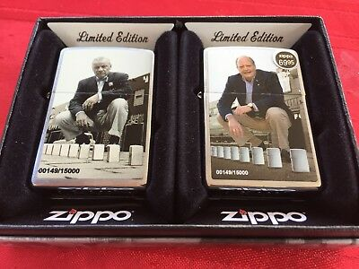 "NEW LTD ED 2 Piece ZIPPO Lighter Set ""A Series in Time"" 2013 # 00149/15000"