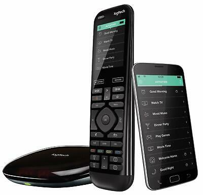 Logitech Harmony Elite Advanced TV and Home Entertainment Remote Control & Hub