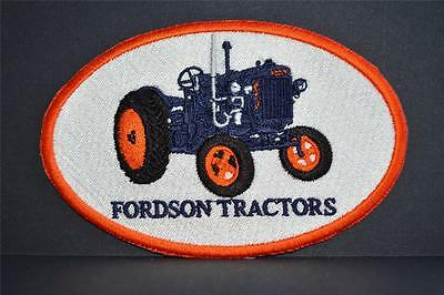 New Embroidered cloth badge -  '  Fordson ' Tractors .
