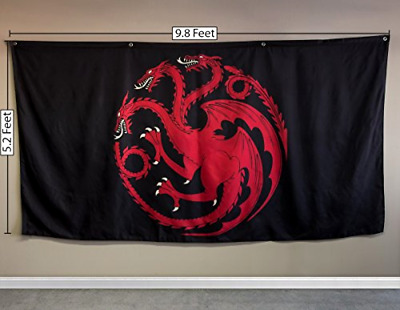 Calhoun Game of Thrones House Sigil Giant Banner Targaryen