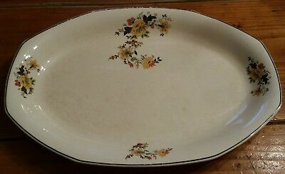 Vintage Homer Laughlin Medieval Rose Platter