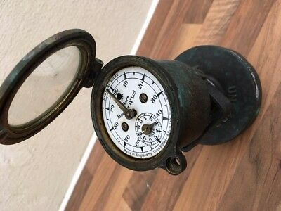 antique ships walkers excelsior log. not light brass. yacht boat marine nautical