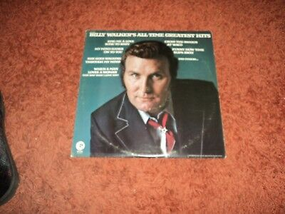 Billy Walker Billy Walkers All Time Greatest Hits USA DEMO pressing Vinyl LP