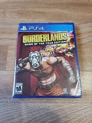 Borderlands [ Game of the Year Edition ] (SONY, PS4)  BRAND NEW FACTORY SEALED