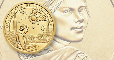 2019 P or D SACAGAWEA NATIVE AMERICAN Indians In The Space Program Dollar Unc.