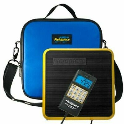 Fieldpiece SRS1 - Lightweight Refrigerant Scale with Padded Case - 0-110 lbs