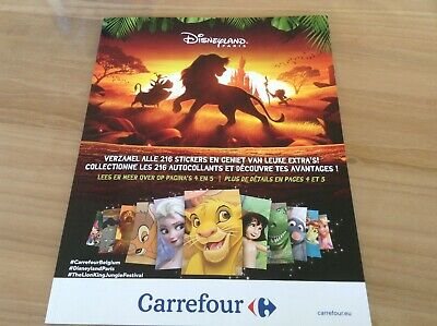 Carrefour Disney Lion King 2019: boek compleet / album complet